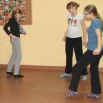 trening antystresowy z choreoterapią - grupa gimnazjum 001b