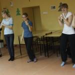 trening antystresowy z choreoterapią - grupa gimnazjum 021