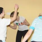 trening antystresowy z choreoterapią - grupa gimnazjum 004b